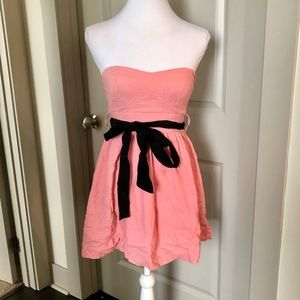 Body Central 🌸 Pink Strapless Dress - S